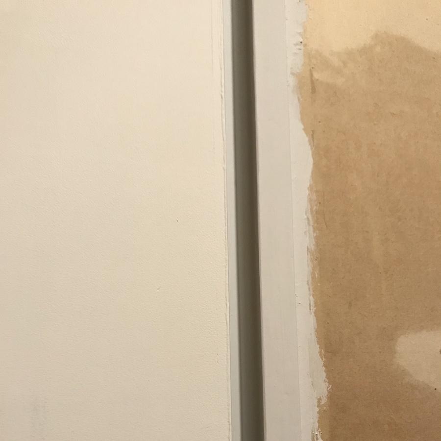 扉 塗装 DIY 白 艶消し