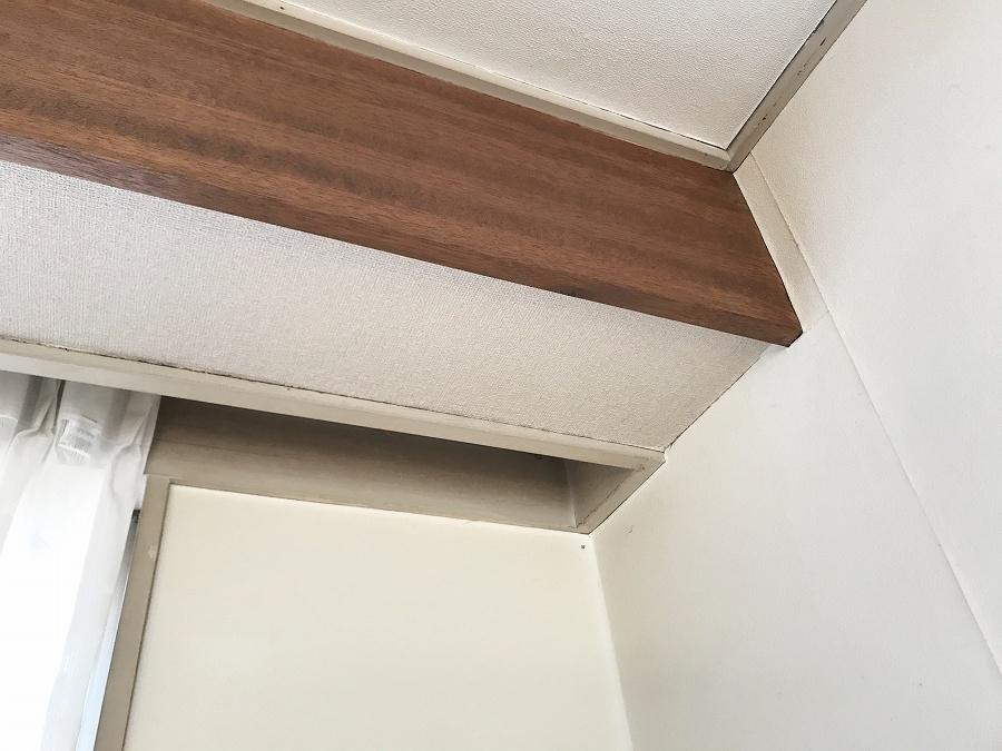 ねこつき一戸建て 天井クロス張替え DIY セルフ リフォーム 初心者