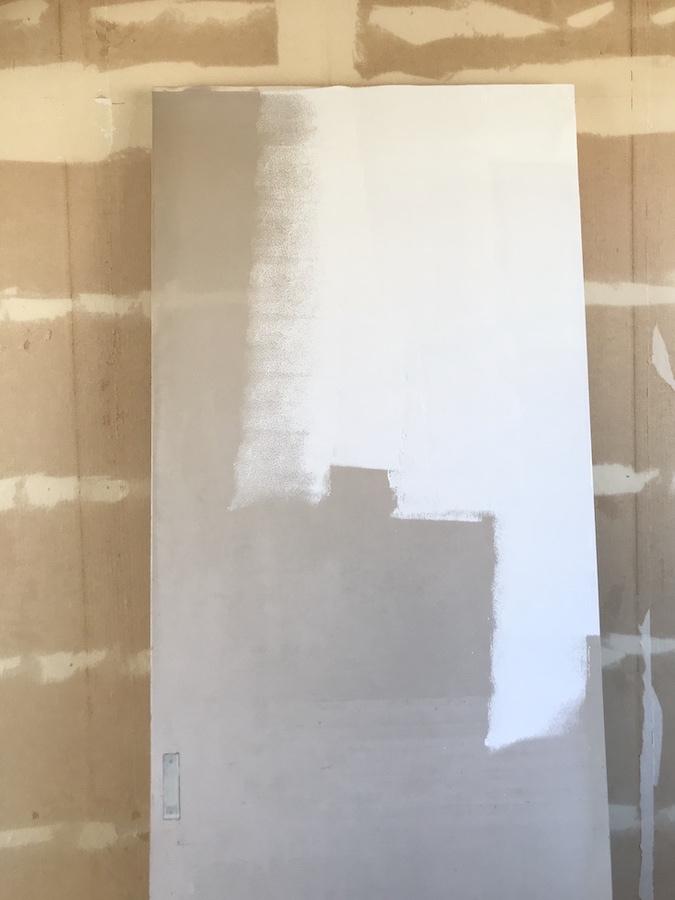 扉 塗装 DIY 白 艶消し ノボクリーン