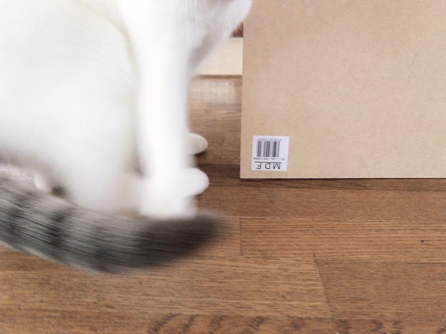 MDF ボード 猫トンネルの作り方