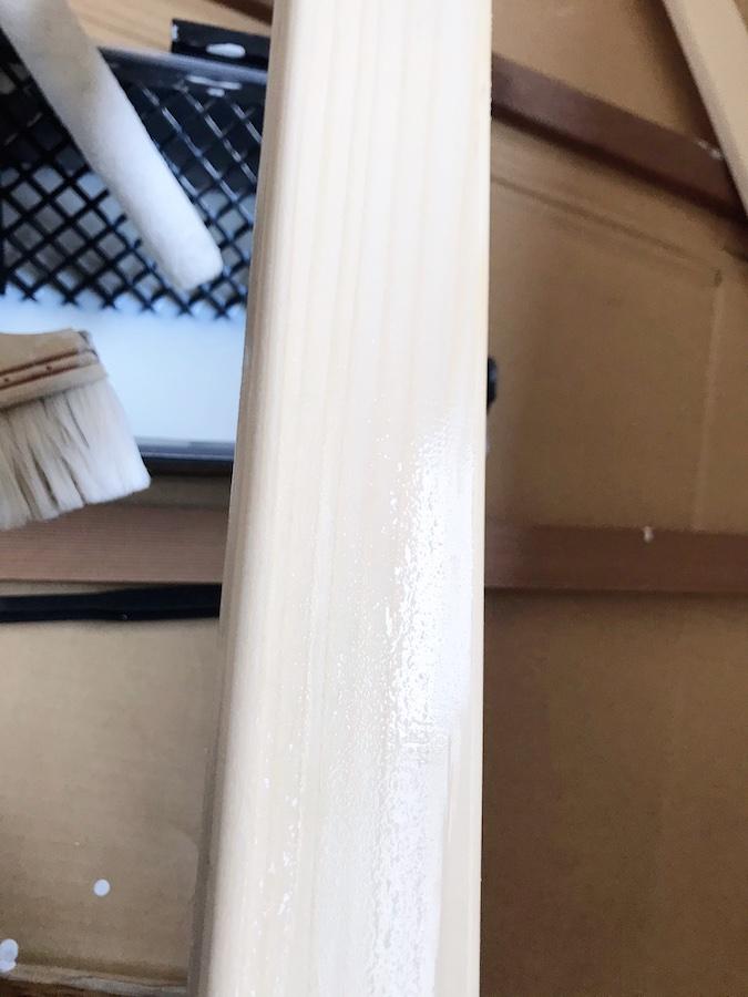シーラー 下地材塗り 無色 簡単DIY 自作 巾木