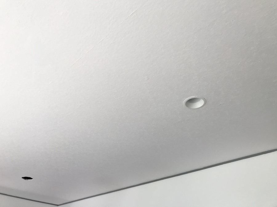 ダウンライト クロス張替えの方法 自分で張り替える 壁紙 簡単 セルフリフォーム ブログ