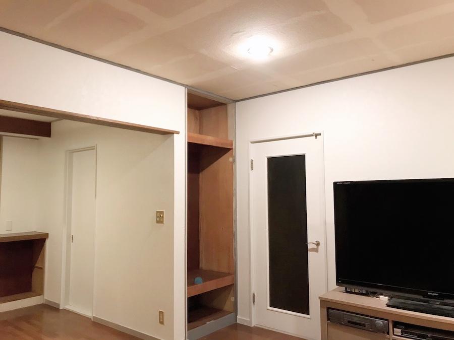 クローゼット 塗装のやり方 セルフリフォーム シーラー 下地材