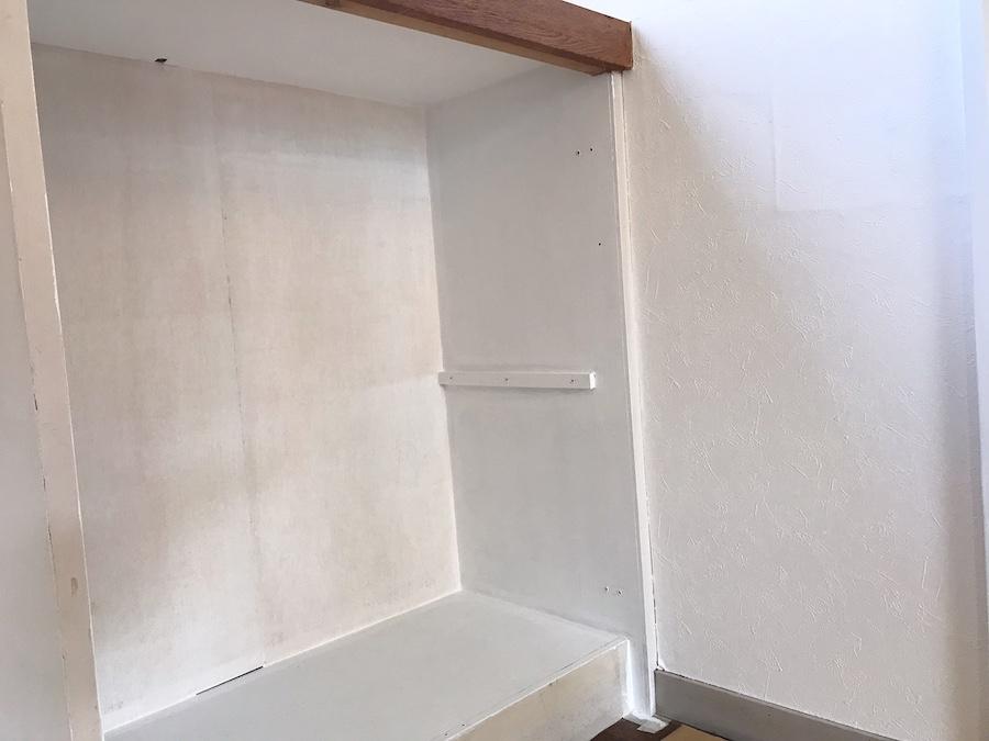 収納 塗装 セルフリフォーム 簡単DIY
