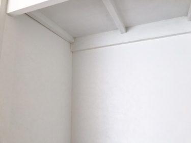 クローゼット 壁紙張り 匂い カビ対策 セルフリフォーム 簡単DIY