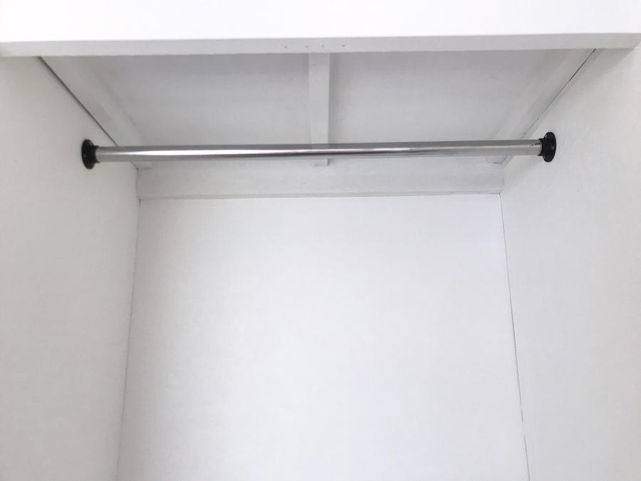 見せる収納 クローゼット クローゼット セルフリフォーム 簡単DIYの方法