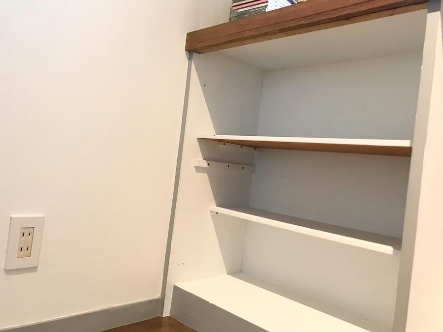 収納 棚 自作する方法 簡単DIY