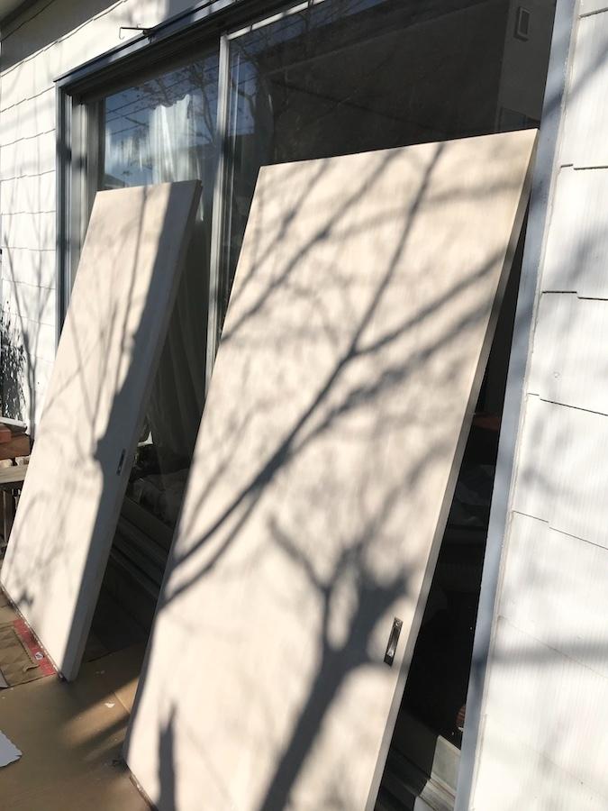 DIY 塗装 扉 セルフリフォーム