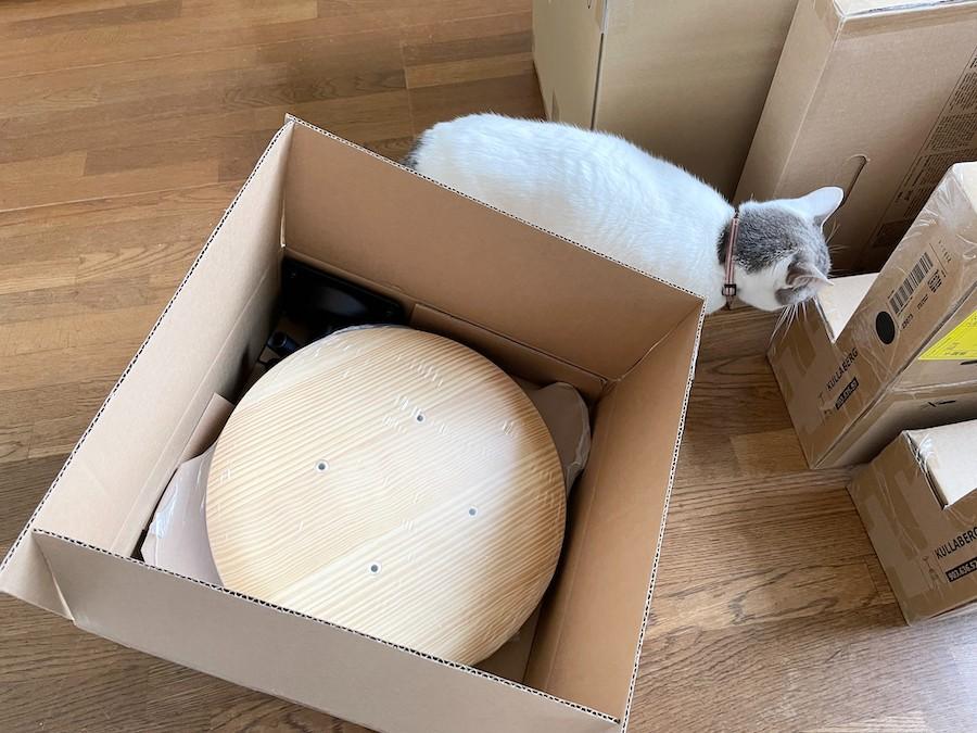IKEA 通販 KULLABERG クッラベリ 猫カフェ 猫つきカフェ おうちカフェ