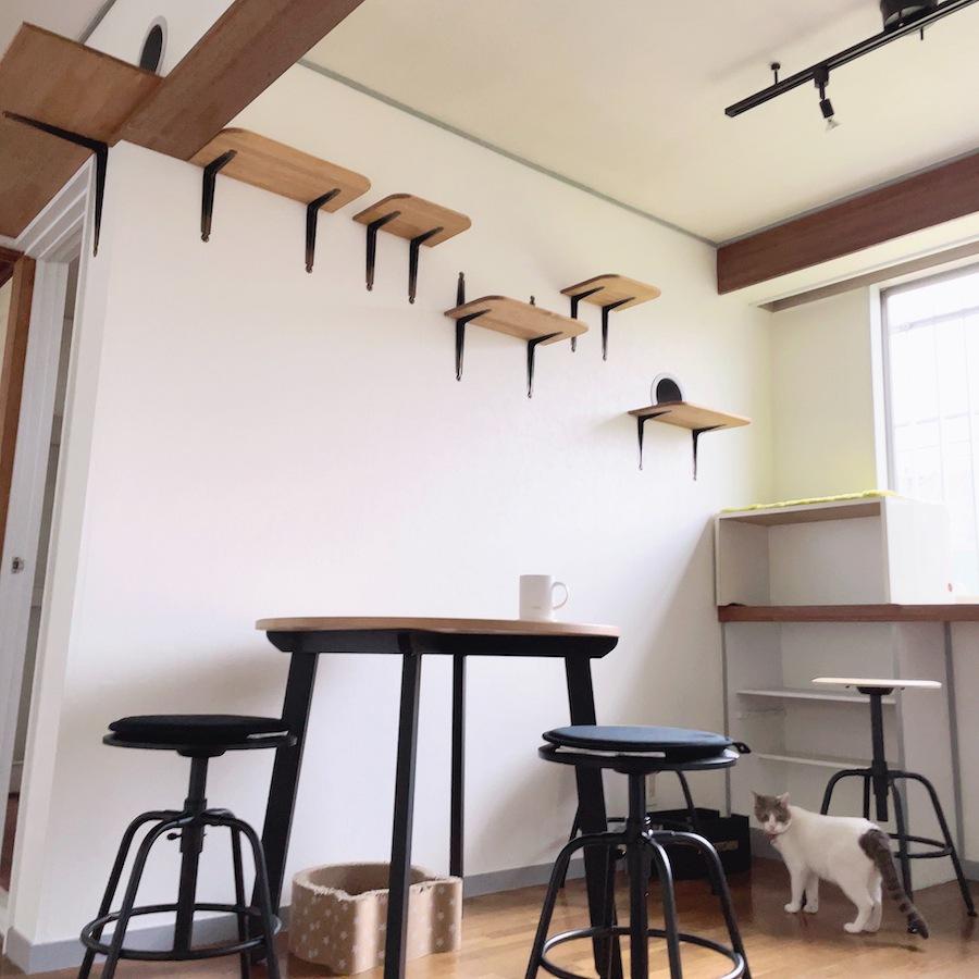 ねこつき一戸建て IKEA 通販 GAMLARED ガムラレード KULLABERG クッラベリ 猫カフェ 猫つきカフェ おうちカフェ